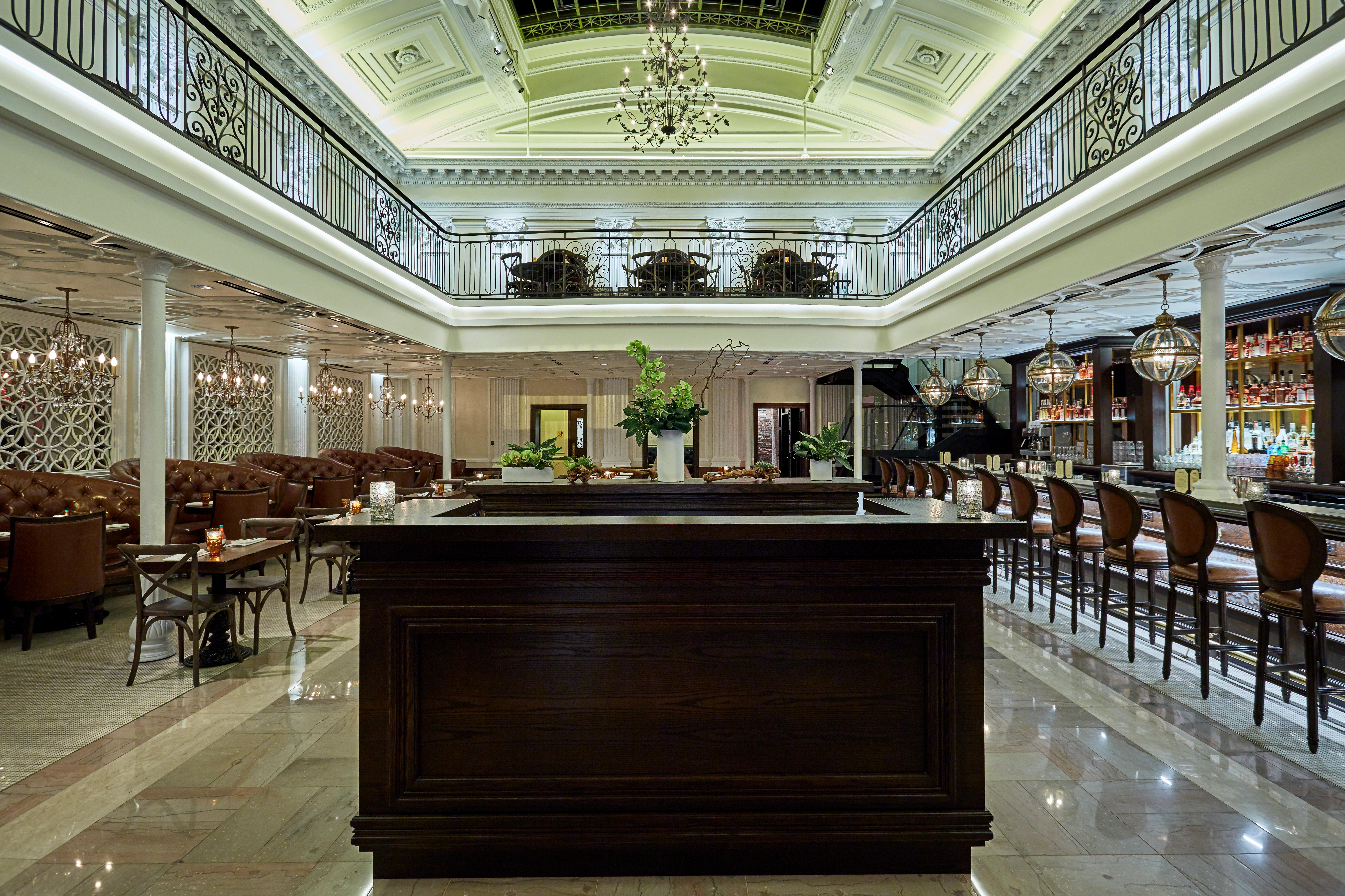 Edward Lee's take on Southern cooking debuted in Penn Quarter in late 2017 inside the beautifully adorned Equitable Bank building. (Image: Scott Suchman)<p></p>