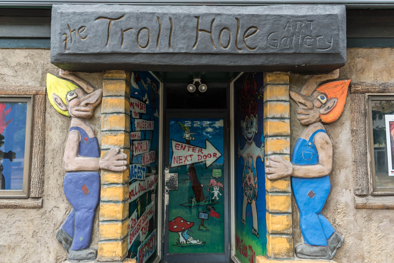 The Troll Hole Museum features the world's largest troll collection. Located in Alliance, Ohio, it houses over 6,000 trolls and tells their story from ancient mythology to modern day toy. The museum offers informative and fun guided tours that will show you why it's been featured on CNN, NBC News, BBC Radio, and won a Best of Cleveland Award. ADDRESS: 228 E. Main St., Alliance, OH 44601 / Image: Mike Menke // Published: 6.19.18