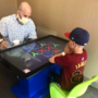 Fighting together: uncle and nephew battle cancer diagnosis hand in hand
