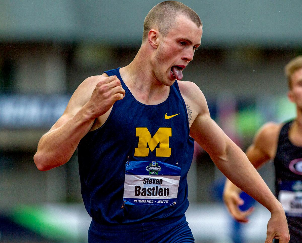 Michigan's Steven Bastien