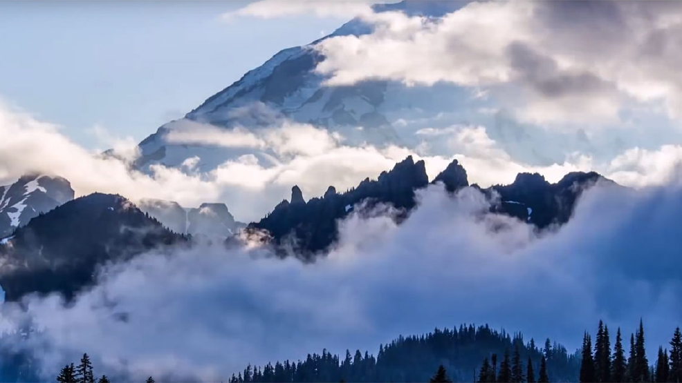 Time Lapse Video beauty: The Wild Wilderness of Washington