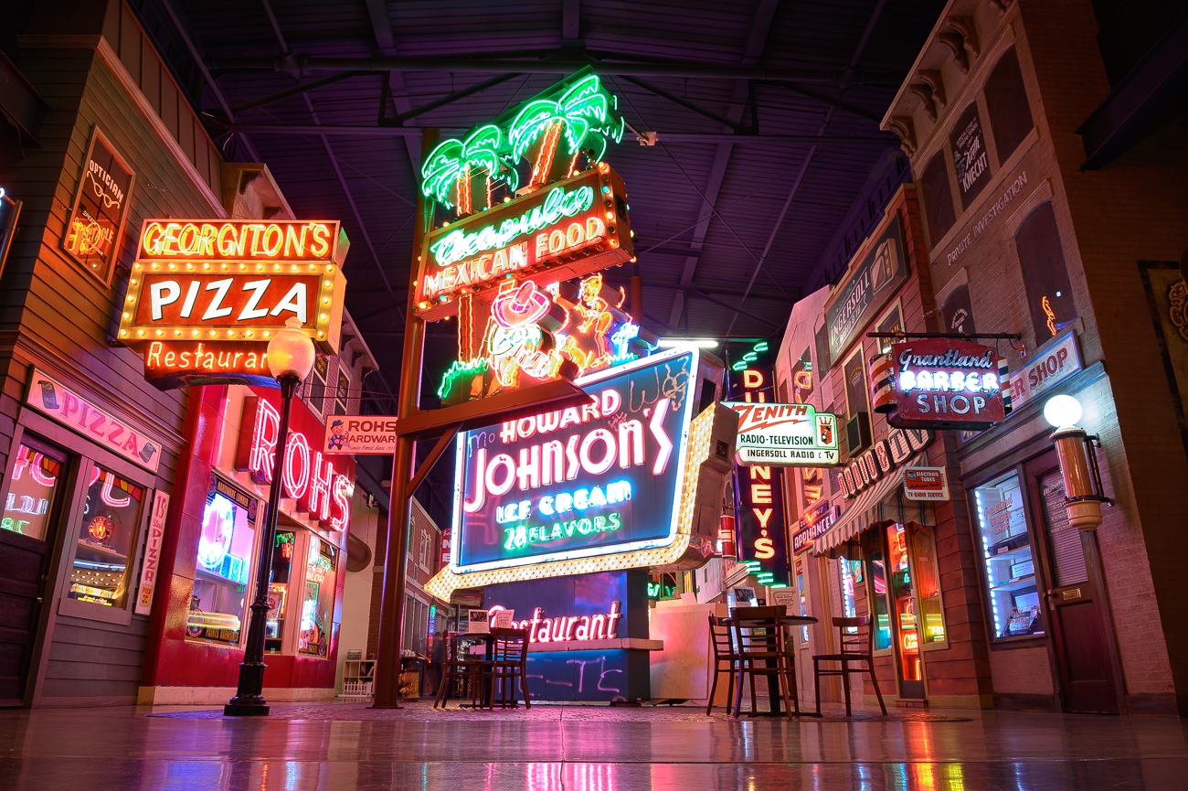 If you've never been to the American Sign Museum before, it's located at 1330 Monmouth Avenue in Camp Washington. People from around the world come to Cincinnati to admire this magnificent collection of vintage signs that were gathered from across the nation. / Image: Phil Armstrong, Cincinnati Refined // Published: 1.24.20