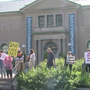 Protest against art sale held in Pittsfield