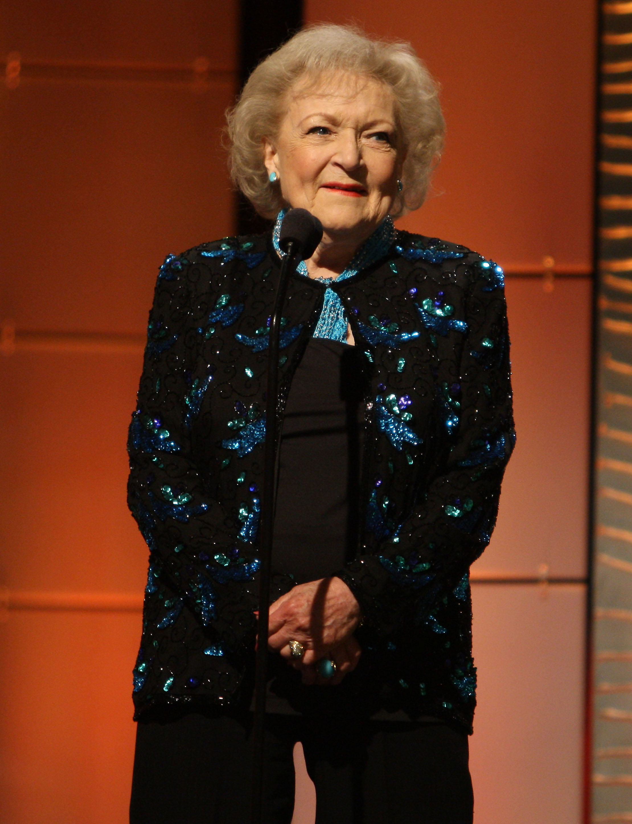 The 40th Annual Daytime Emmy Awards sponsored by CIROC Vodka held at The Beverly Hilton Hotel - Show                                    Featuring: Betty White                  Where: Beverly Hills, California, United States                  When: 16 Jun 2013                  Credit: FayesVision/WENN.com