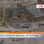 'Worksite injury' reported at Raiders' Las Vegas stadium site