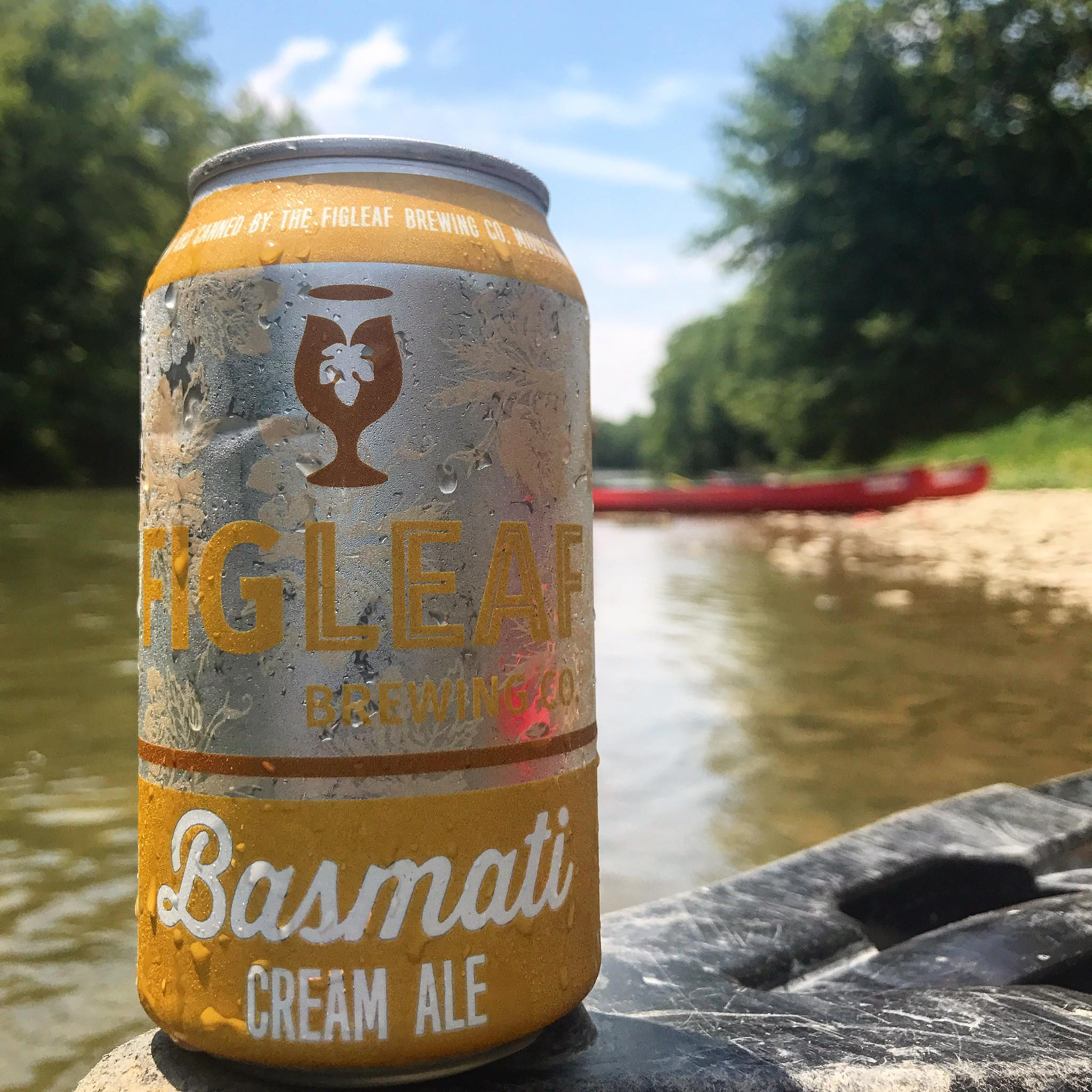 Basmati Cream Ale / Image courtesy of FigLeaf Brewing // Published: 1.28.18