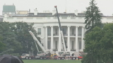 Trump's 'dump': White House undergoes $3.4 million renovation