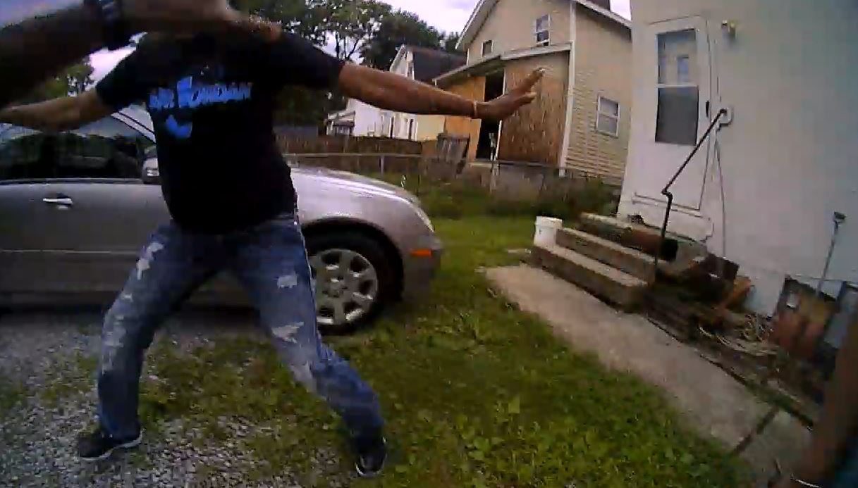 Columbus Police released bodycam video showing the deadly officer-involved shooting of Kareem Jones (Courtesy: Columbus Police Dept.)