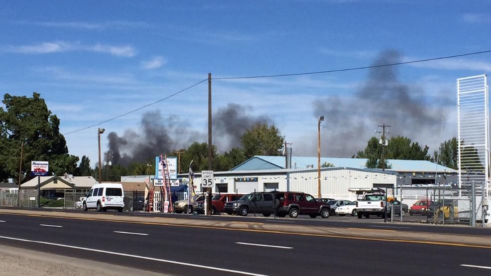 Trailer Fire Reported In Garden City Kboi