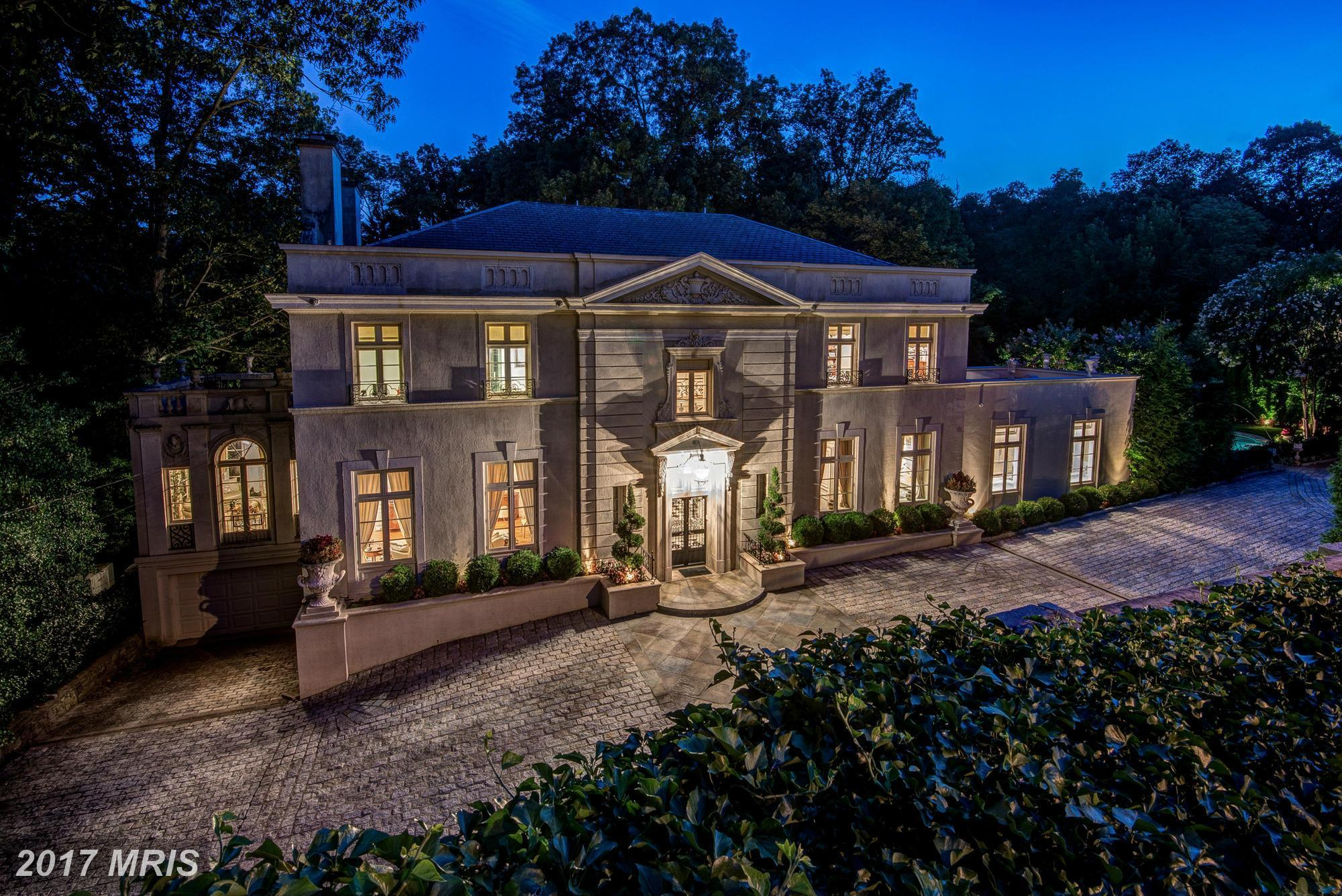 List price: $12,000,000 // Closing price: $10,750,000 // 7 bedrooms, 10 bathrooms // Built in 1927 // Beaux Arts style // Neighborhood: Cleveland Park // Listing agent: Charles Holzwarth of Washington Fine Properties // Selling agent:{&amp;nbsp;}Robert Hryniewicki of Washington Fine Properties (Image: Courtesy Bright MLS)<br><p></p>