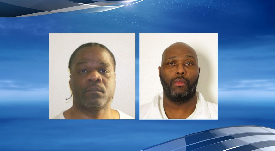 After the highly-publicized pair of executions for two death-row inmates were called off Monday, the subsequent death sentences scheduled for two other condemned prison inmates, Lee (L) and Johnson (R), scheduled for Thursday are also now in question. (Photo: Arkansas Department of Correction)