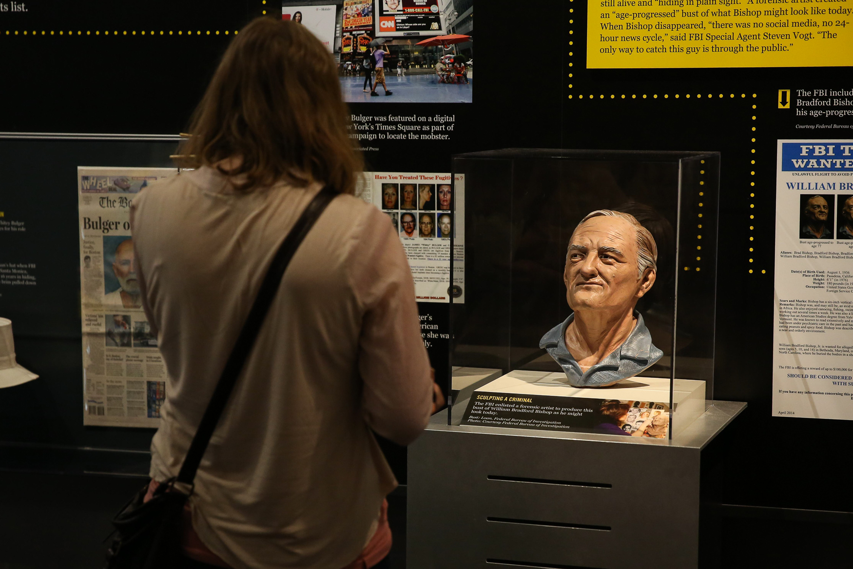 The Newseum occupies a massive space and there are exhibits that will keep you occupied for hours, like the Pulitzer photo center and the special exhibition on how the FBI tracks terrorism. Tickets are normally $24.95, but furloughed feds can get in for free when they show their IDs. (Amanda Andrade-Rhoades/DC Refined)