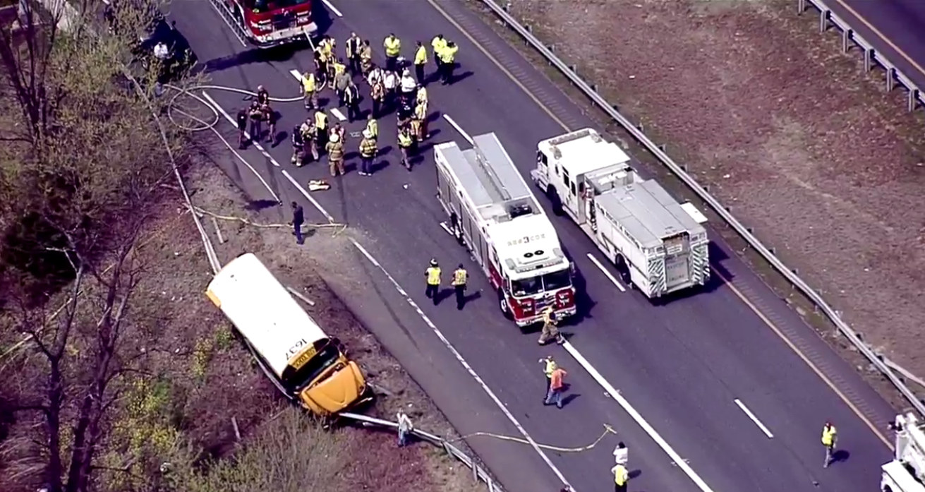 school bus involved in multi car crash in maryland wjla a school bus has been involved in a multi car crash in urbana md