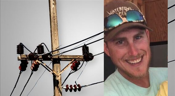 Holden Beck's family says he was working on a power line in Alabama and suffered a severe shock. (Image: Holden Beck's family / MGN)