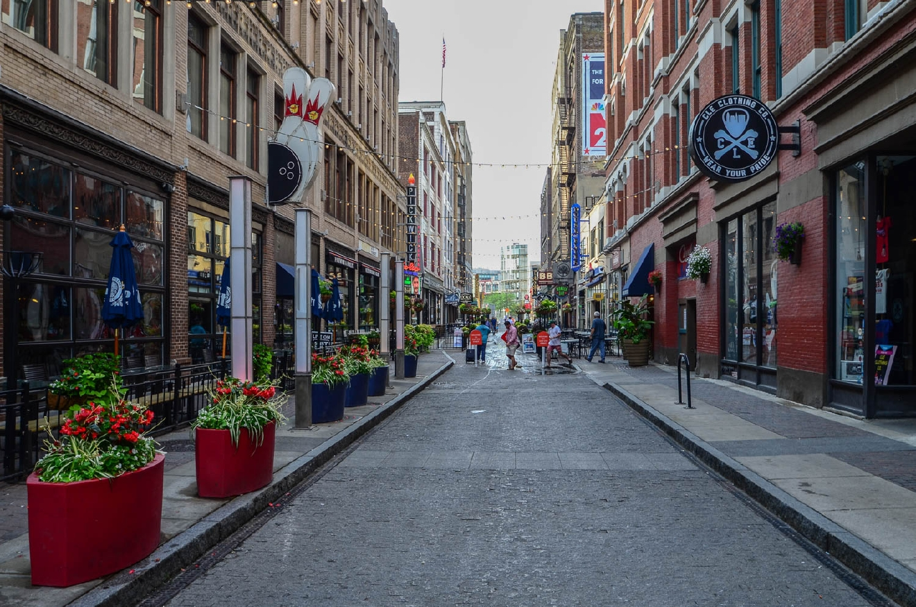 Cleveland isn't so bad! Just take a look at E. 4th Street! / Image: Sherry Lachelle Photography
