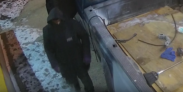 Photo of one of the robbers in the 7-Eleven ATM machine burglary from Jan. 19 in Northwest D.C.{&amp;nbsp;} Wednesday, March 7, 2018 (Metropolitan Police){&amp;nbsp;}<p></p>