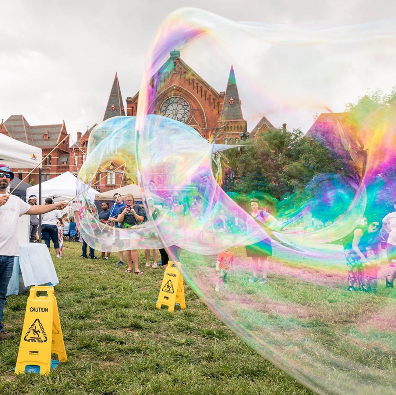 Kickin' it at the bubbly festivities in Washington Park, such as the City Flea... / Image courtesy of Instagram user @kobl1 // Published: 9.23.19
