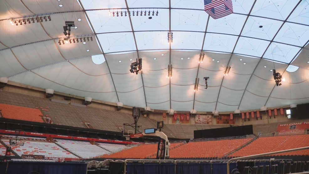 Su Basketball Fans Carrier Dome Staff Get Ready For Winter Storm Wstm