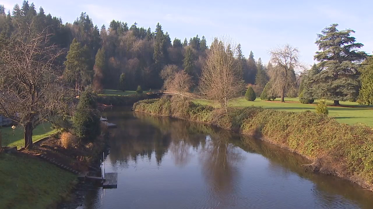 A few years ago, the old Wayne Golf Course was on the verge of turning into luxury townhomes. Now it's not only the city's newest park, but at 90 acres it's also the largest. (Photo: KOMO News)