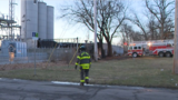 UPDATE: Crews knock down rekindled fire at old Drewrys plant