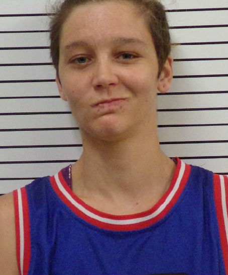 Misty Spann, 26, has pleaded guilty to a complaint of incest in Stephens County. (Stephens County Jail)