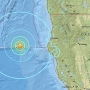 Three earthquakes hit within two hours off N. California coast, peak 6.5 magnitude