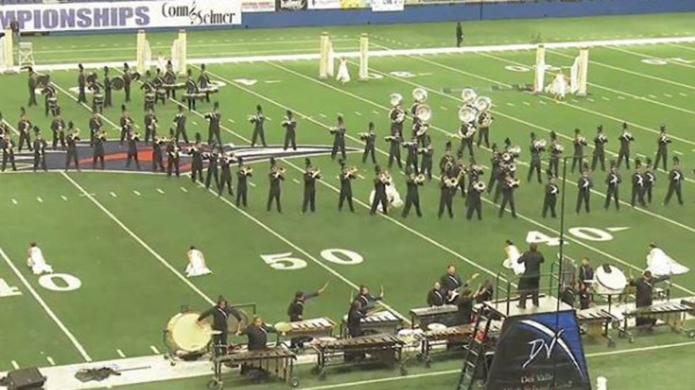 El Paso High Schools Performs In Class 5a Marching Band Contest