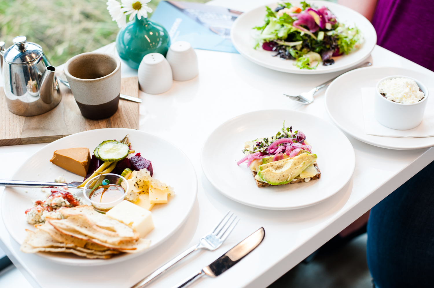 Freya Cafe is situated right inside the entrance to the Nordic Museum in Ballard, and is a great lunch spot (or an excellent way to end your trip to the Nordic Museum). (Image: Elizabeth Crook / Seattle Refined)