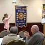 Miss Nebraska speaks with Kearney Noon Rotary on supporting the military