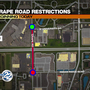 TRAFFIC ALERT: Crews repairing pavement on Grape Road
