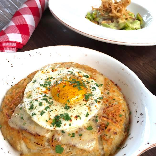 Considering all the time spent on the slopes each winter, it's no wonder that the Swiss know a thing or two about comfort food. At this new Atlas District spot, order this dish of the Swiss answer to hash browns topped with bacon, onion, Gruyere and a fried egg, available on both the dinner and brunch menus.(Image: Rina Rapuano)