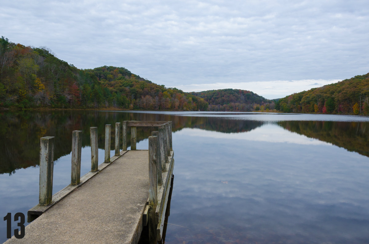 "STORY: ""If You Didn't Already Love Fall, These Pics Of Shawnee State Park Are Sure To Convince You"" / LOCATION: Shawnee State Park sits along the river on 1,095 acres in the foothills of the Appalachian Mountain in southern Ohio. / IMAGE: Sherry Lachelle Photography / Published: 12.25.16"
