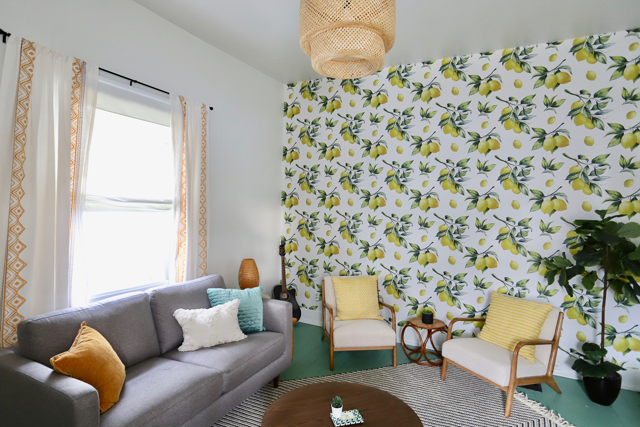 "Nicole Nichols transformed a 740-square-foot house in Oakley into an Airbnb and short-term rental. Entitled ""The Little Lemon,"" the house is just enough space for someone to stay overnight in comfort and style. / Image courtesy of Nicole Nichols // Published: 1.8.19"