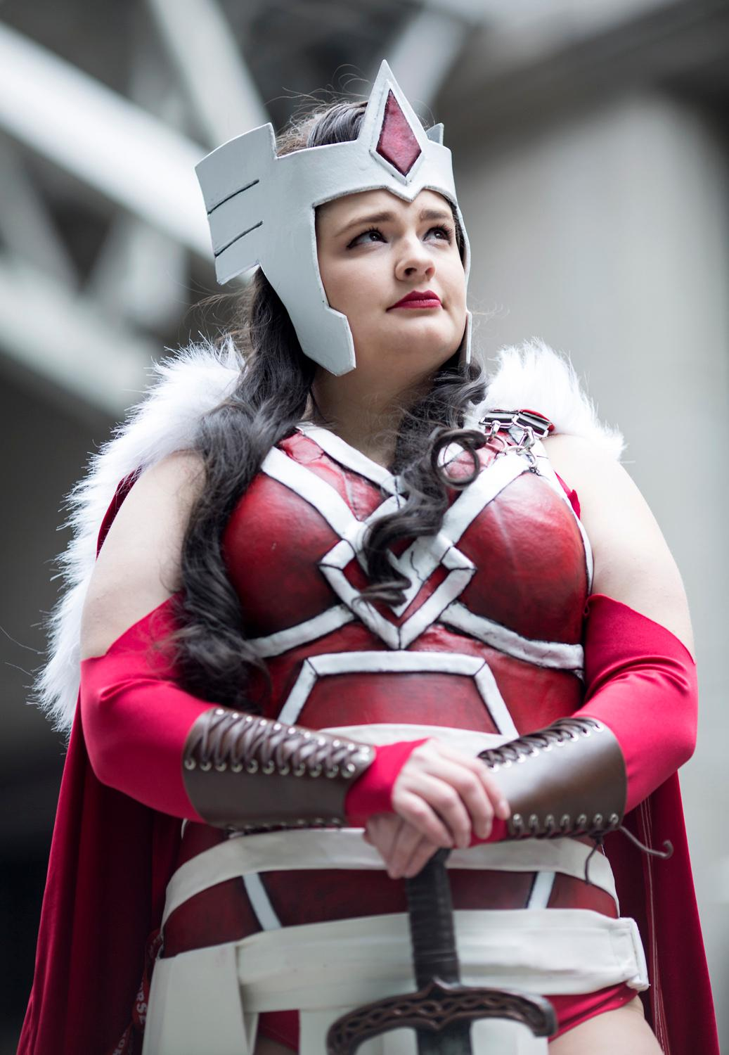 Emerald City Comicon is the largest comic book and pop culture convention in the Pacific Northwest. Thousands come to the Washington State Convention Center in Seattle for 4 days of cosplay, comic books, celebrities, panels and more. This year, they're expecting upwards of 95,000 people! Today, (March 2, 2017) marks the halfway point of ECCC. (Image: Sy Bean / Seattle Refined)