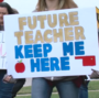 Group petitioning to repeal historic tax increase claims teachers would still get raises