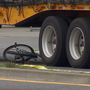 Bicyclist, 14, struck by semi truck, critically injured in Shoreline