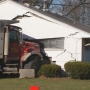 DEVELOPING: Driver taken to hospital after crashing dump truck into Kettering home