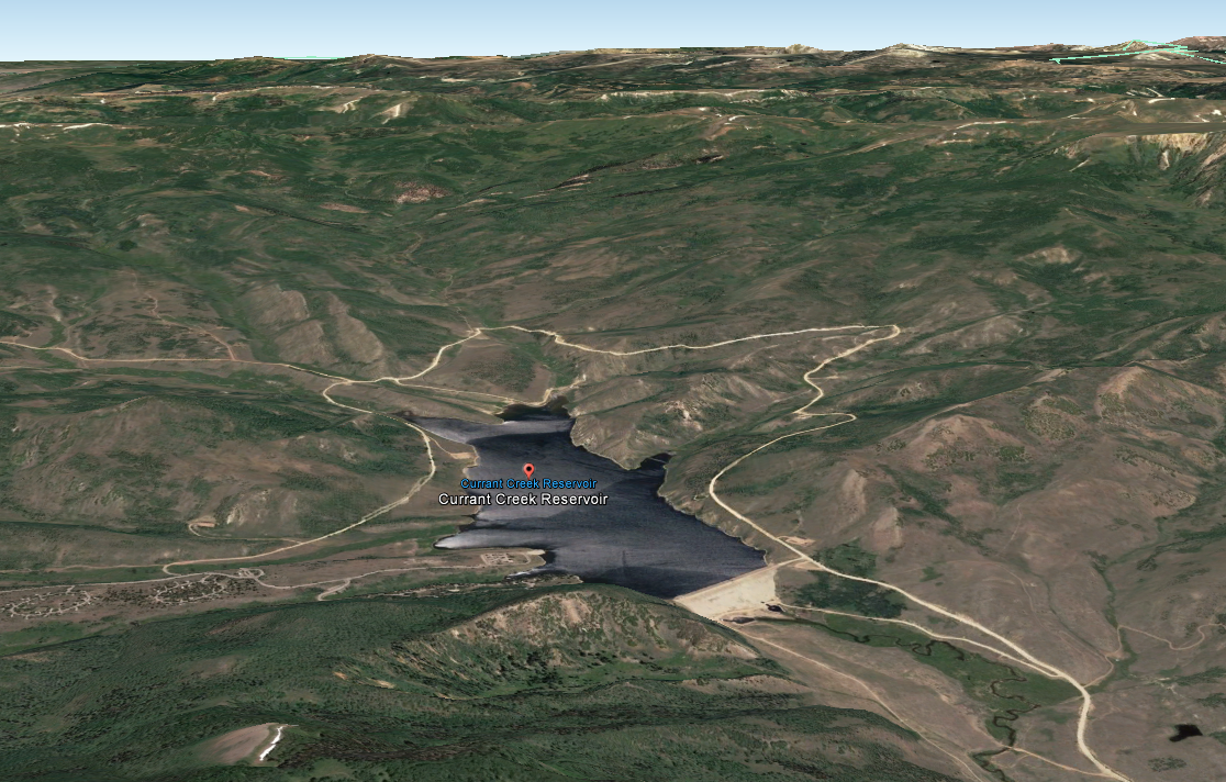 Helicopter taken down by elk was part of DWR's big game program (Photo: Google Earth)