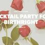 WACH: Birthright Cocktail Party Saturday