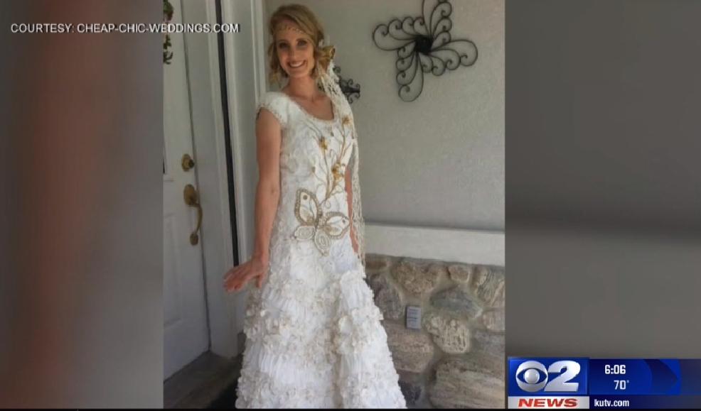 Utahn Earns Top Spot In National Contest For Making Wedding Dress