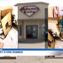 Owners of businesses clean up after jewelry heist in Portage