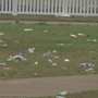 Trail of trash left behind after TSU homecoming events