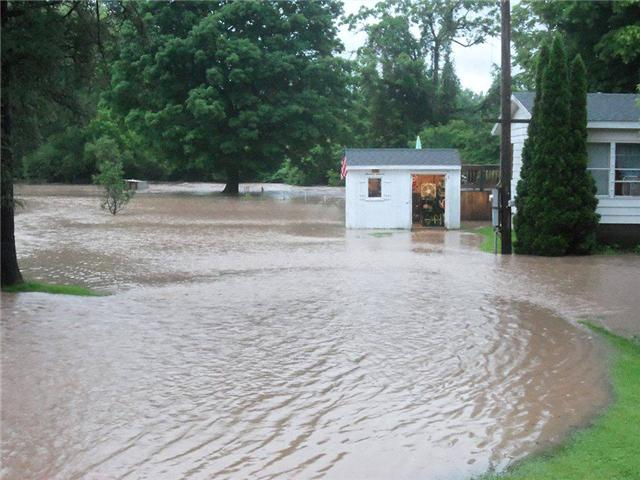Flooding in Munnsville