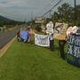 Protesters in Swannanoa want DEQ to reject Atlantic Coast Pipeline