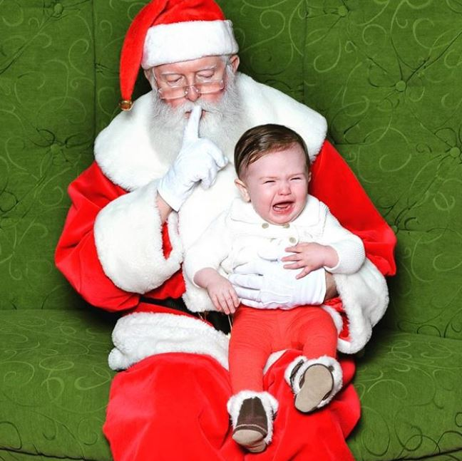 Ah, Santa Claus - the glorious bearded man in the big red suit who fulfills our kiddos holiday dreams and wishes.  Also doubling as, apparently, the scariest man alive. Grab a glass of eggnog, sit back and feast your eyes on these Santa pics gone wrong - or as I call them...realistic Santa pics. (Image: Jenna Luthman)<p></p>