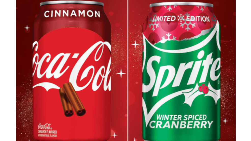 Coca-Cola to unveil two holiday flavors this fall