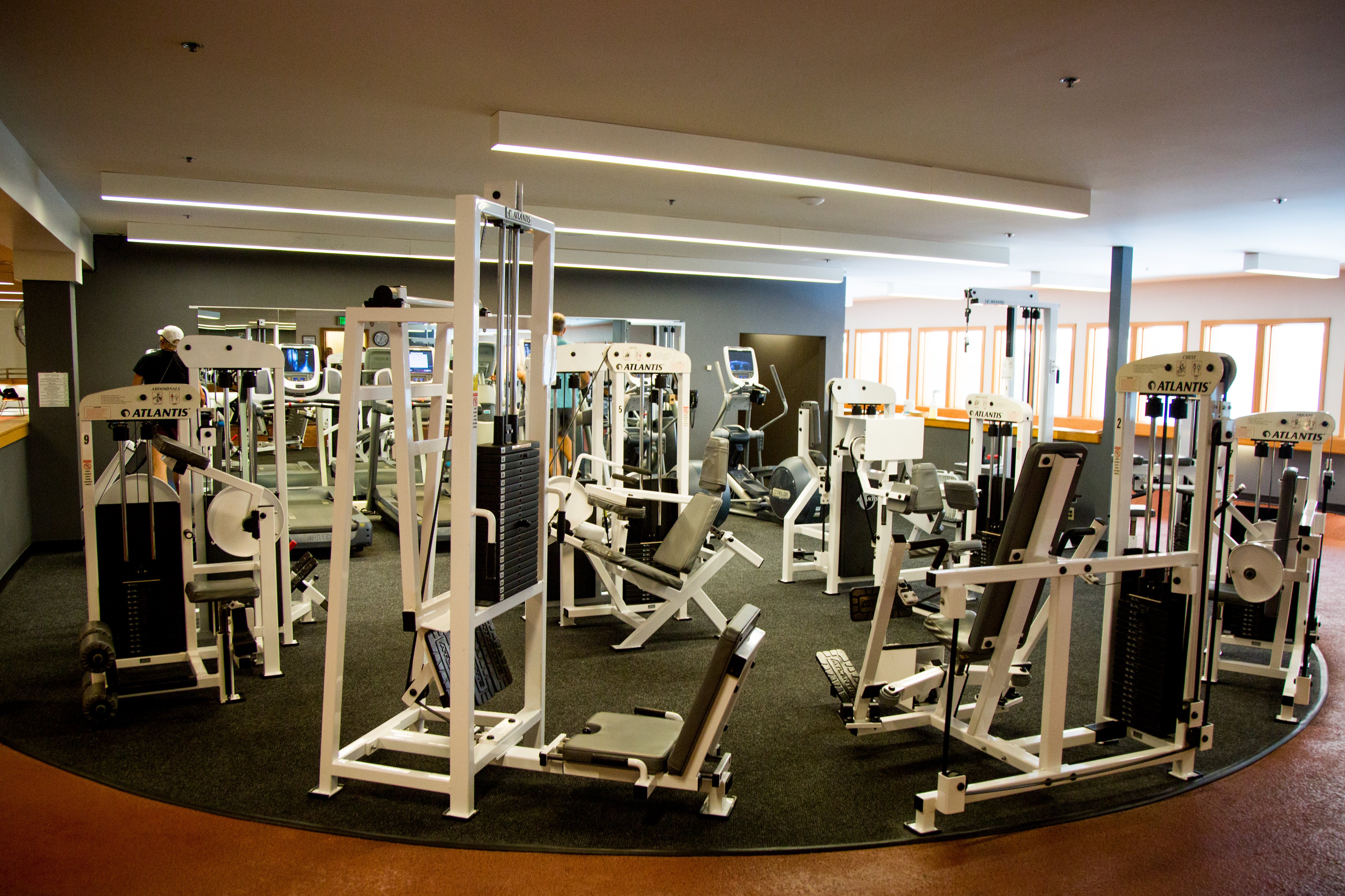 Keep up your healthy habits in the fitness center, which offers exercise machines, running track, and drop-in fitness classes for resort guests.<p></p>
