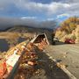 There goes Grandma's pie -- apples litter U.S. Route 2