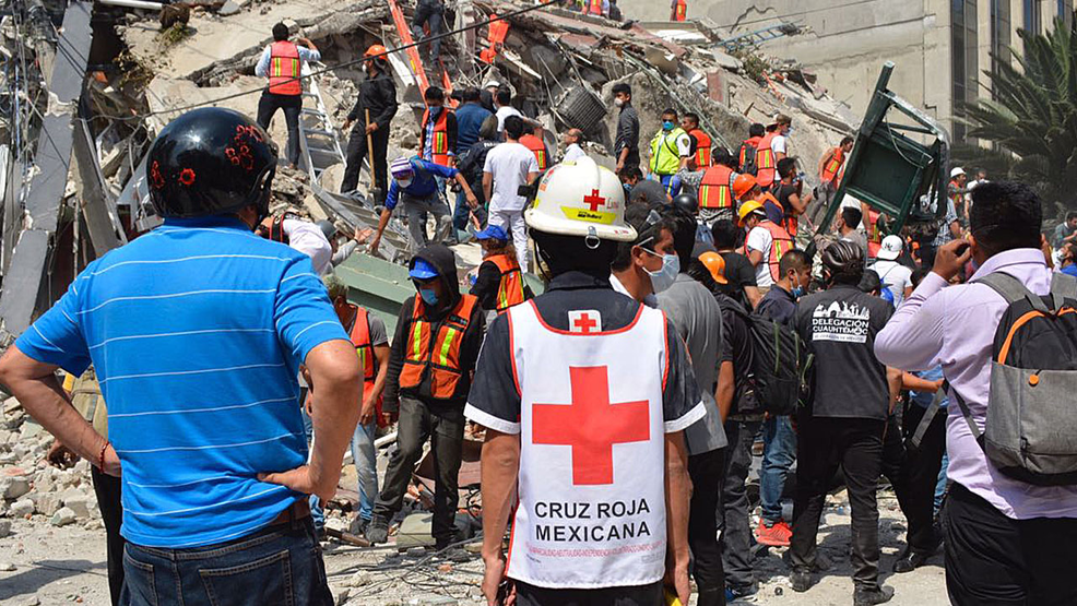 Earthquake Donations To Be Accepted Via Mexican Red Cross