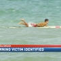 Pensacola Beach drowning victim identified